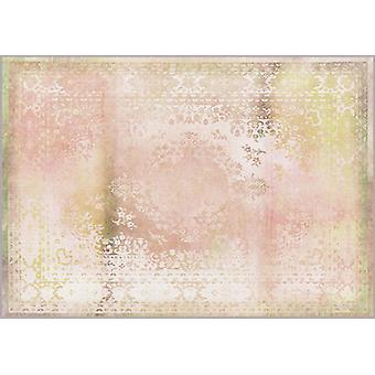 Rugs -Mineheart - Kashan Remix Landscape Rug in Peach