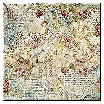 Stamperia Rice Paper Napkins Time is an Illusion Floral Texture (DFT327)