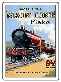 Wills Main Line Flake Fridge Magnet   (hb)