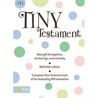 NIV Tiny Testament Bible by Zonderkidz - 9780310730279 Book