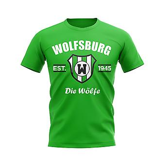 Wolfsburg Established Football T-Shirt (Green)