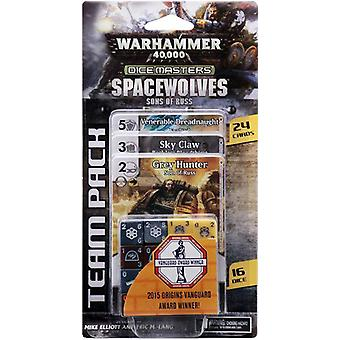 Warhammer 40000 Dice Masters Space Wolves Söhne des Russ Team Pack