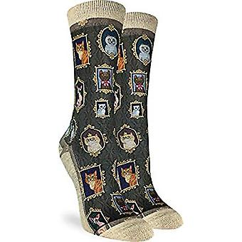 Socks - Good Luck Sock - Women's Active Fit - Prized Cats (5-9) 5128