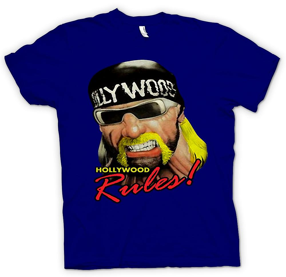 Règles de Hollywood Mens T-shirt - Hulk Hogan-