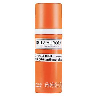 Bella Aurora Spf 50 + Antistain Sunscreen Normal and Dry skin