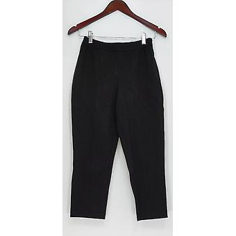 Joan Rivers Classics Collection Signature Ankle Pants Black A300847
