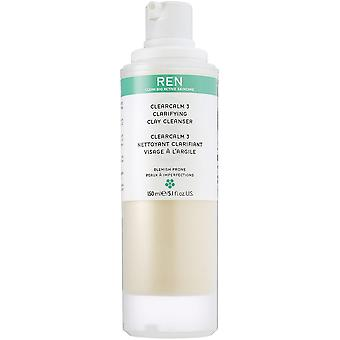 Ren ClearCalm 3 Clarifying Cleanser Ton