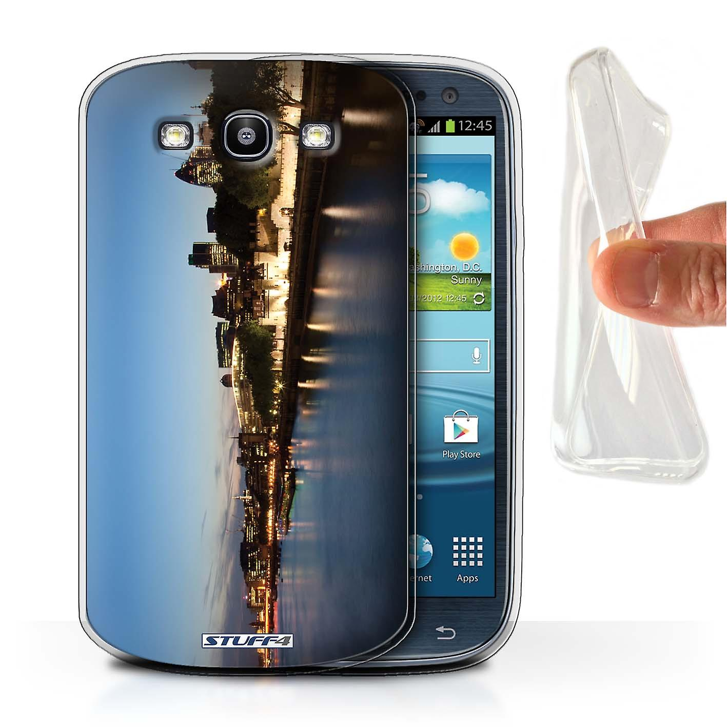 Stuff4 Gel Tpu Case Cover For Samsung Galaxy S3 Siii River