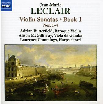 J. Leclair - Jean-Marie Leclair: Violon sonates nos 1-4, livre 1 [CD] USA import