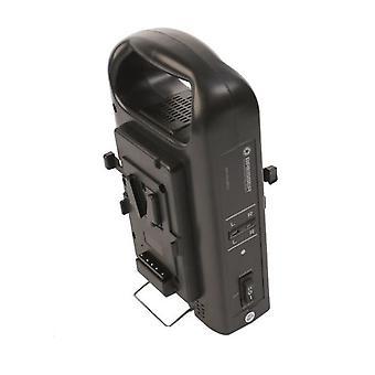 BRESSER BR-RL2KS Ladegerät für 2 V-Lock Akkus