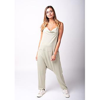 Jools jersey jumpsuit in green