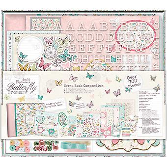 Papermania Butterfly Dreams Compendium-Scrapbook PM105151