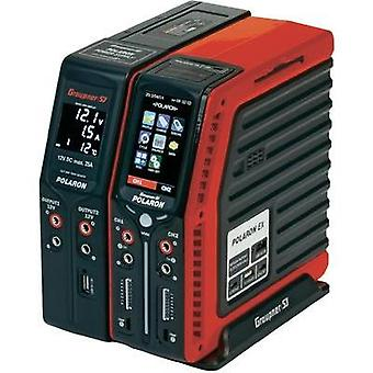Scale model multifunction charger 12 V, 220 V 20 A Graupner Polaron EX Combo NiMH, NiCd, LiPolymer, Li-ion, Lead-acid