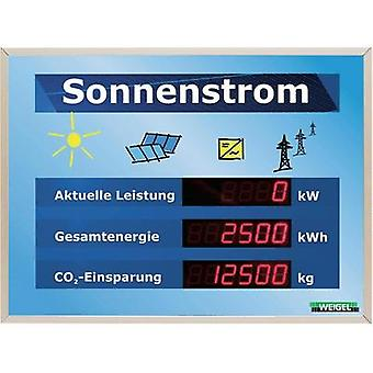 Weigel WGA330-19-41 Large LCD display for solar systems