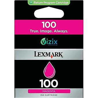 Ink cartridge Original Lexmark 100 Magenta