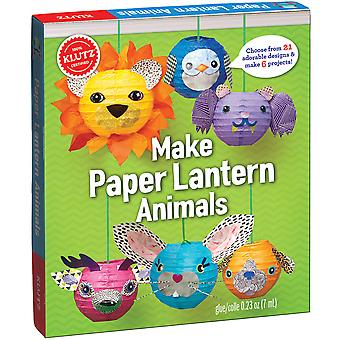 Make Paper Lantern Animals Kit- K803755