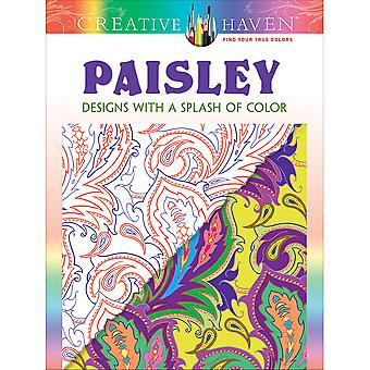 Dover Publications-Creative Haven : Paisley conçoit DOV-07762