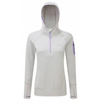 Aspiration Victory Hoodie Cloud Marl/Lilac Womens