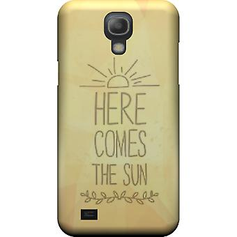 Here comes the sun mate cover for Galaxy S4 mini