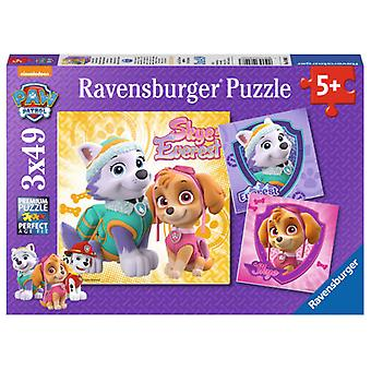 Ravensburger 3X49 Puzzle Skye & Everest (Kids , Toys , Table Games , Puzzles)