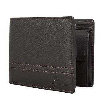 TOM TAILOR men's purse wallet purse Brown 1258