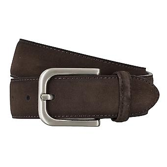 BRAX belts men's belts leather belt suede Brown 4685