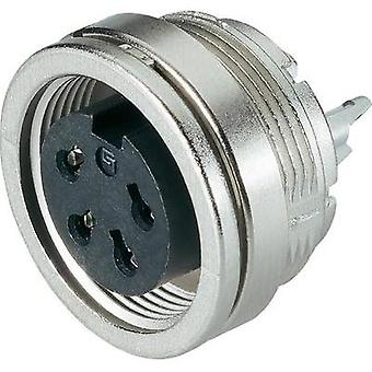 Binder 09-0474-00-08 Miniature Round Plug Connector Series 581 And 680 Nominal current: 5 A Number of pins: 8 DIN