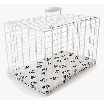 Wire Carrier rektangulære ekstra store 56x40x40cm