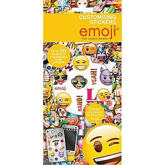 Emoji Set of 300+ Customising Stickers 6 Sheets Gift Bag
