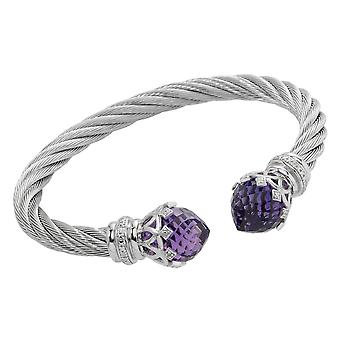 Burgmeister Bangle with Cubic Zirconia JBM3004-521