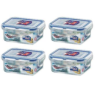 Lock & Lock 180ml Extra Small Storage Containers, Set of 4