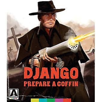 Django Forbered en kiste [Blu-ray] USA import