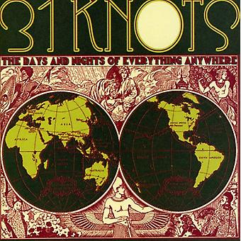 31Knots - Days & Nights of Everything Anywhere [CD] USA import