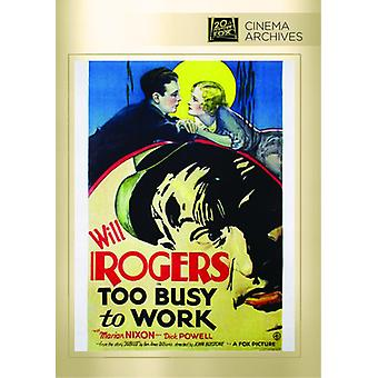 Too Busy to Work [DVD] USA import