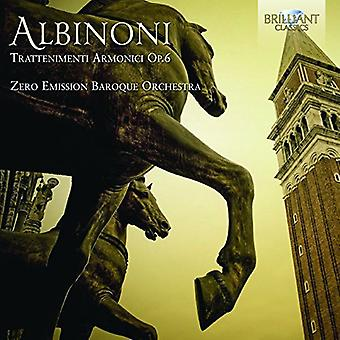 Albinoni - Trattenimenti Armonici op. 6 [CD] USA importare