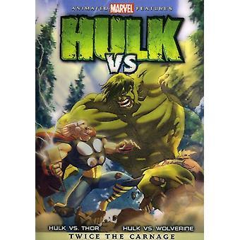 Hulk vs [DVD] USA import