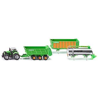 Siku Deutz-Fahr With Joskin Trailer Set