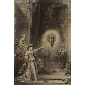 Gustave Moreau - The Apparition Poster Print Giclee