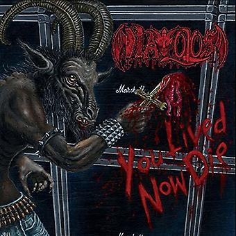 Diavolos - du levede nu dø [CD] USA importerer
