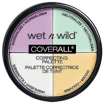 Wet N Wild Coverall Correcting Color Palette Commentary (Make-up , Face , Concealers)