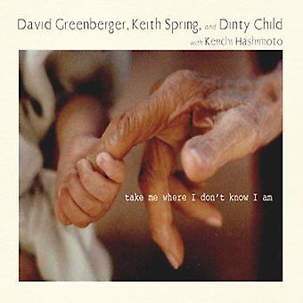 GREENBERGER, David / forår, Keith / Dinty barn - tage mig, hvor jeg ved ikke, jeg er [CD] USA importerer
