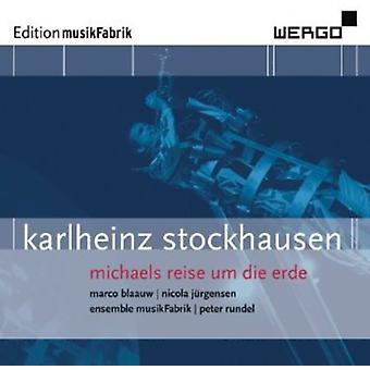 K. Stockhausen - Karlheinz Stockhausen: Michaels Reise FN Die Erde [CD] USA import