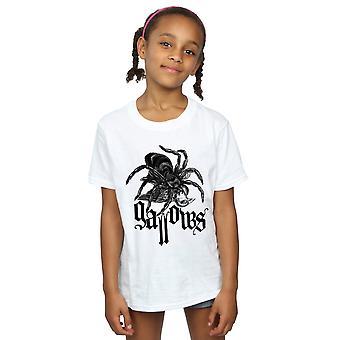 絞首台の女の子黒蜘蛛 t シャツ