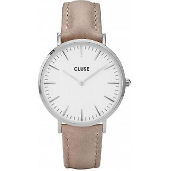 Watch Cluse CL18234 - silver Bohemian white woman Hazelnut