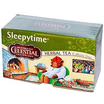 Celestial kryddor Sleepytime te 20 Bag Box