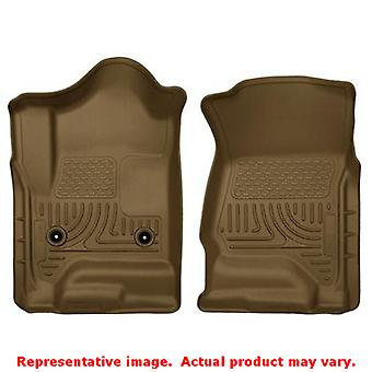 Husky Liners 18233 Tan WeatherBeater Front Floor Liners FITS:CADILLAC 2015 - 20