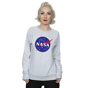 La NASA Insignia Classic Logo sudadera mujer