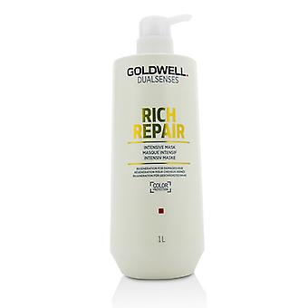 Goldwell Dual Senses Rich Repair Intensive Mask (Regeneration For Damaged Hair) 1000ml/33.8oz