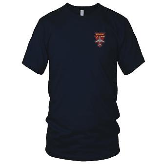 US Navy VAQ-133 Electronic Attack Squadron Embroidered Patch - Mens T Shirt