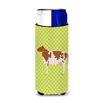 Ayrshire Cow Green Michelob Ultra Hugger for slim cans